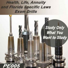 Health, Life, Annuity and Florida-specific Laws Exam Drills